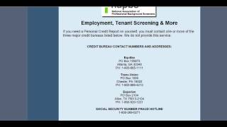 AAA Credit Screening Services - Background checks, credit checks, motor vehicle reports, and more... Thumbnail