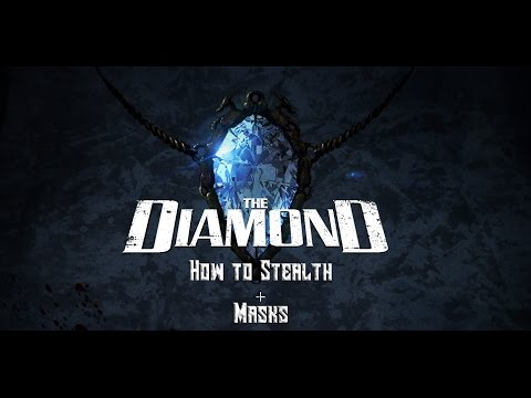 Payday 2: How To Stealth Diamond Heist + Masks
