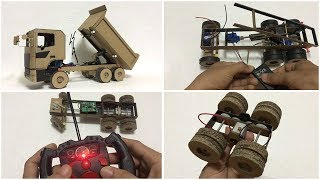 Creative Idea With RC Homemade How to Make a Powerful RC Truck by Yourself Very Easy and Fast