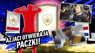 AZJATKA OTWIERA MI PACZKĘ Z IKONĄ! NAGRODY ZA FUT CHAMPIONS! | FIFA 20 JUNAJTED