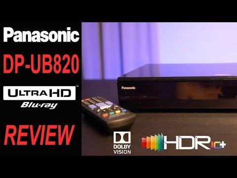 PANASONIC DP-UB820 4K Blu-Ray Player   Best Player Of 2018?