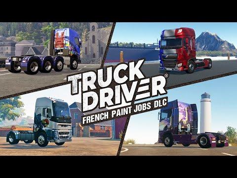 Truck Driver - French Paint Jobs DLC Trailer