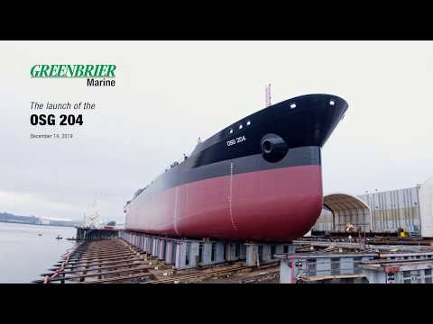 2019 OSG 204 Barge Launch