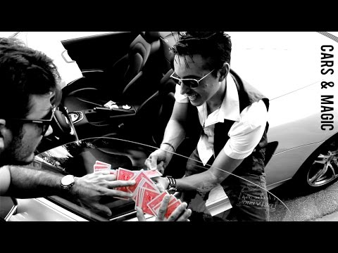 Cars and Magic Audi R8 Richard Laffite Magic Experience