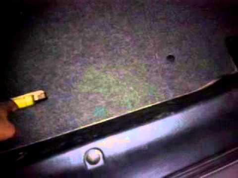 Переделка лотка багажника (Ланос)