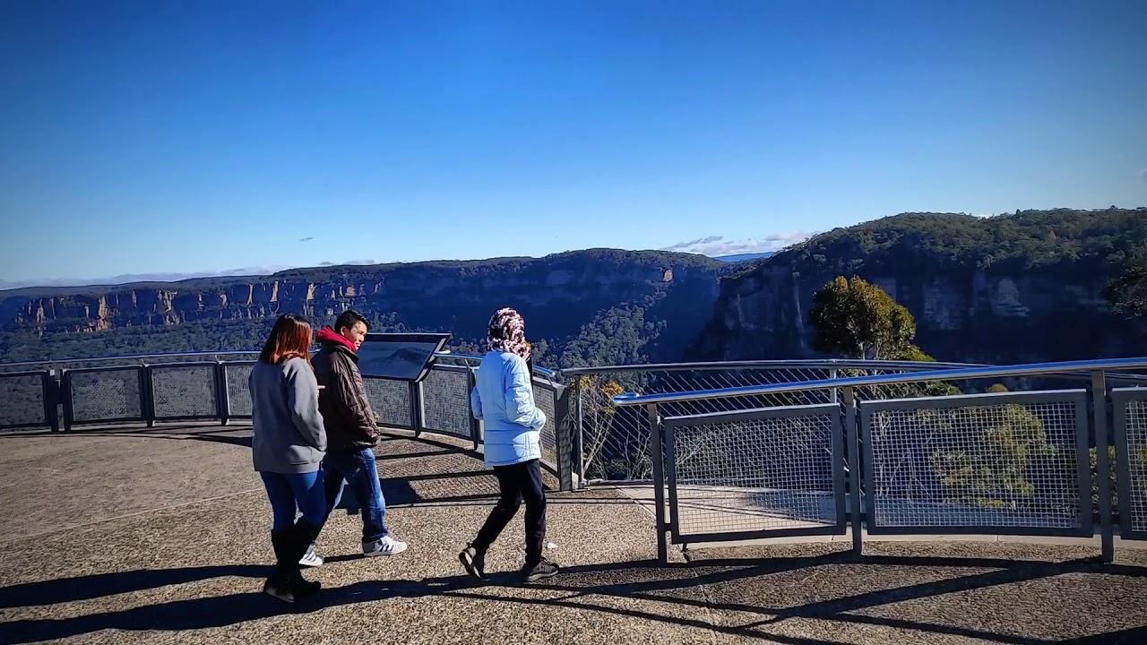 Echo Point Lookout | Blue Mountains | Sydney | Australia | Video