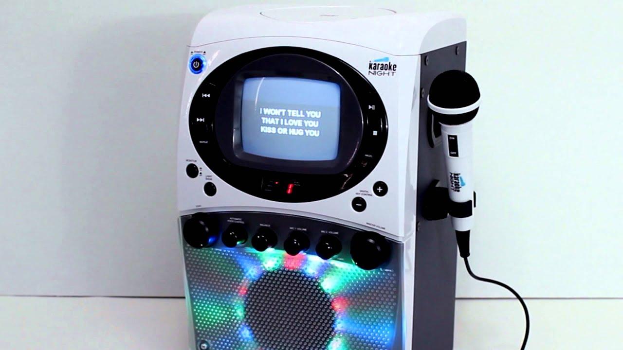 Kn355 Karaoke Machine By Karaoke Night Youtube
