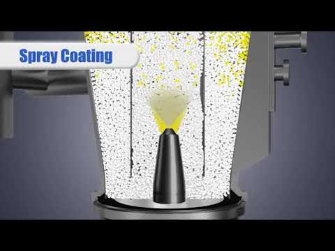 Freund-Vector's Wurster Accelerator 2: Dry Powder Coating Patented Technology