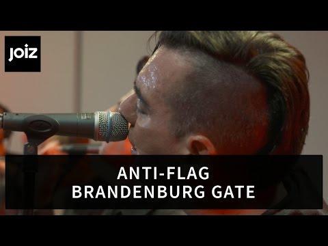 Anti-Flag - Brandenburg Gate (Live at joiz)