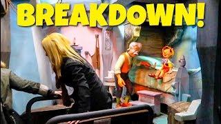 Disney Ride Breakdown & Evacuation - Pinocchio Ride at Disneyland