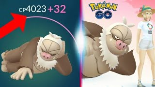 Slaking Powered Up To 4,000cp + Testing It Out On A Raid - Pokemon Go