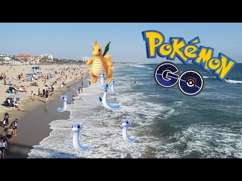 SANTA MONICA PIER GETS OVERHYPE (Hunt for Dragonite) | Pokemon Go