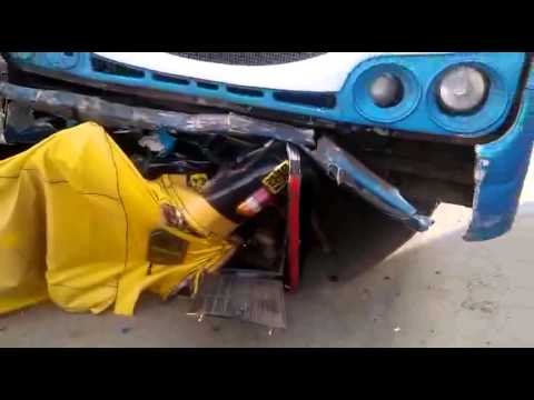 Bangalore Road accident - YouTube