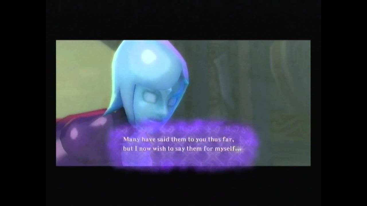 Zelda Quotes Glamorous The Legend Of Zelda Skyward Sword  Goodbye Fi And Impa  Youtube