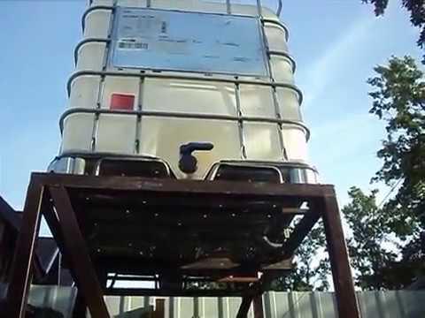 Еврокуб 1000 литров.Подставка под еврокуб.Компания 1001 Бочка Воронеж