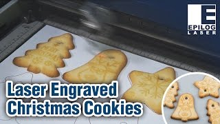 Engrave Christmas Cookies with an Epilog Laser