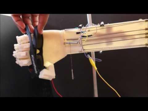 IEEE CASE2016 Nylon Actuated Prosthesis