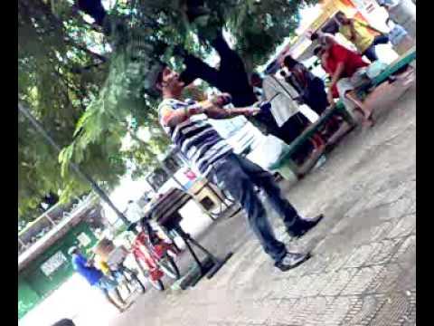 Colombianos na pça. Gentil Ferreira(Junho 2011) Alecrim Natal RN