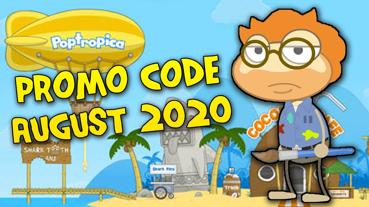 Poptropica promo code august 2017 valid code