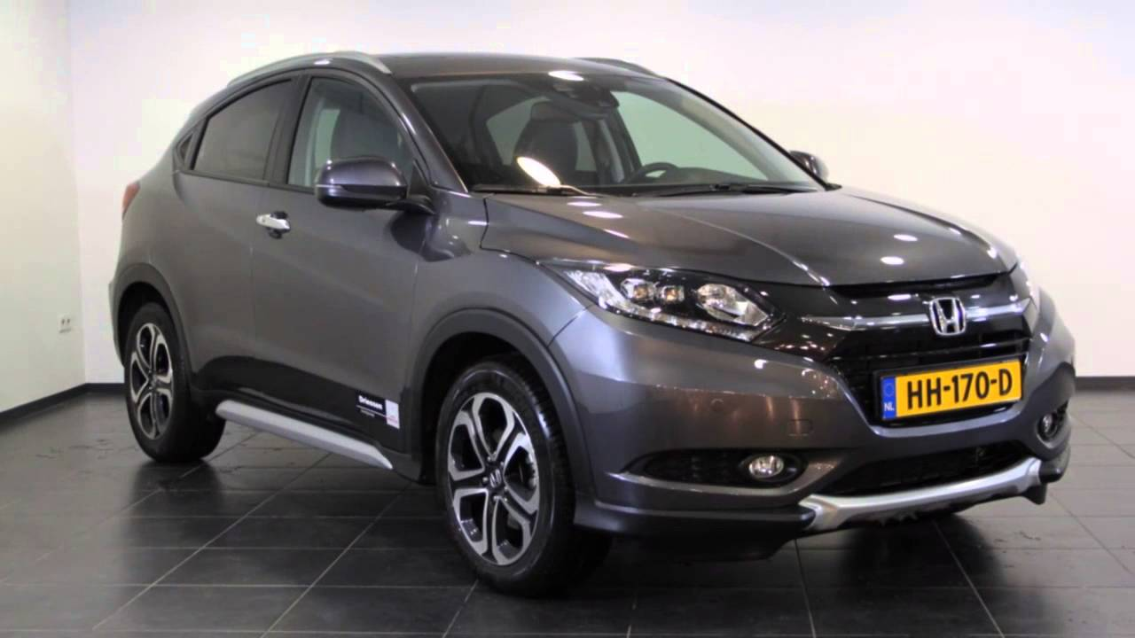 honda hr v 1 6 i dtec executive navi youtube. Black Bedroom Furniture Sets. Home Design Ideas