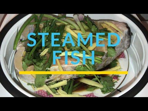 Steamed Fish Using Rice Cooker   Sonyxperia XZ Phone   #Yvettesvloghk