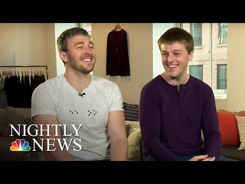 Inspiring America: Two Blind Brothers Working To Cure Blindness Via Clothing | NBC Nightly News