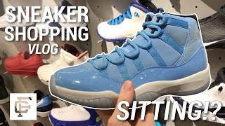SNEAKER SHOPPING IN NYC VLOG