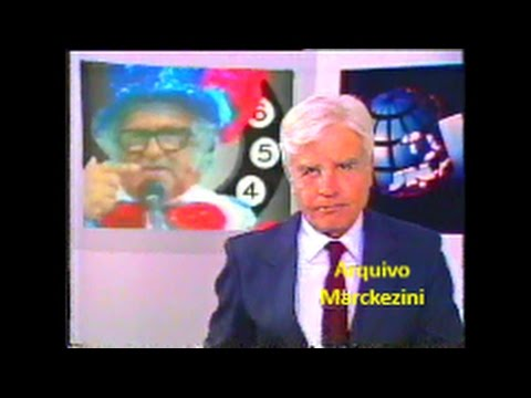Jornal Nacional - A Morte de Chacrinha (Globo/1988)