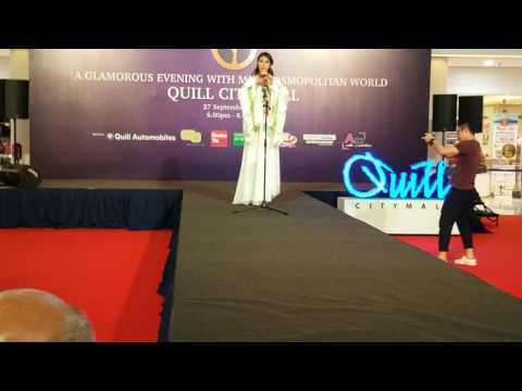 Miss cosmopolitan world 2016 Talent show Shanghai