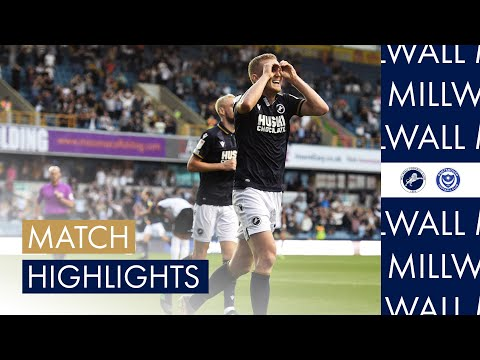 Millwall Portsmouth Goals And Highlights