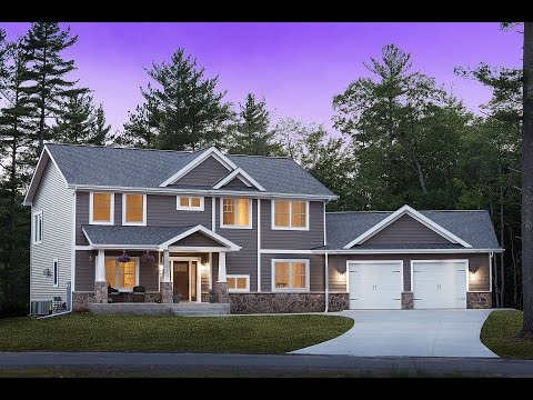 2 Story Craftsman Tour by Dickinson Homes YouTube