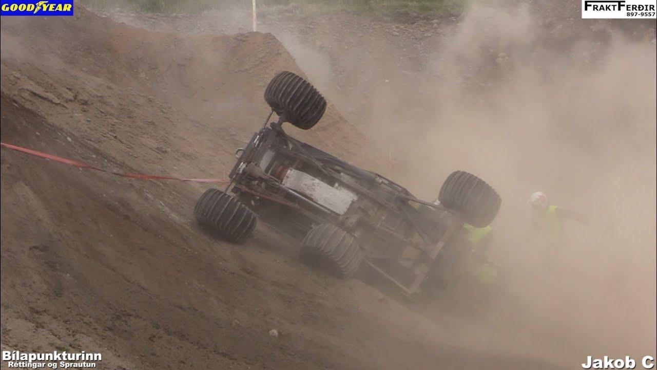 Formula Offroad Iceland, Tímaur loosing Tires!