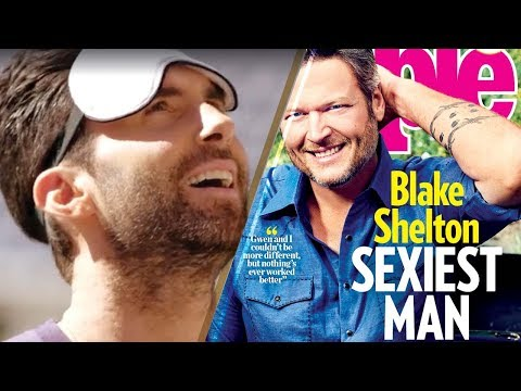 Blake Shelton Reveals His 'Sexiest Man Alive' Honor to 'The Voice' Co Star Adam Levine