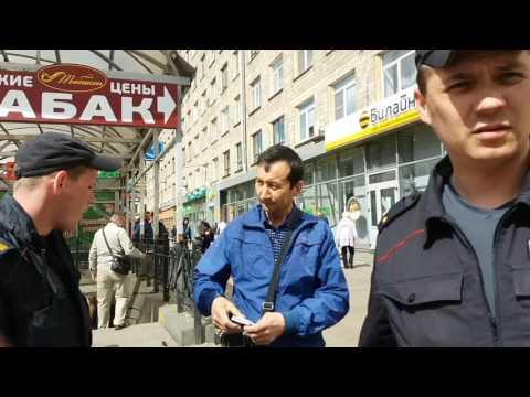 20170614 Незаконная уличная торговля в Автово