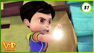 Vir: The Robot Boy | Powerless Vir | Action Show for Kids | 3D cartoons