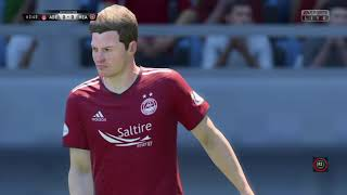 Fifa 19 - Aberdeen FC rebuild career mode - Part Two: Silly thinking in the box, cost us the match.