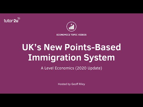 UK's New Points-Based Immigration System