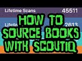 ScoutIQ BOOK Sourcing App Walk Through - How To Source Books For Amazon FBA