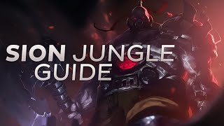 Nightblue3 - Reworked Sion Jungle Guide