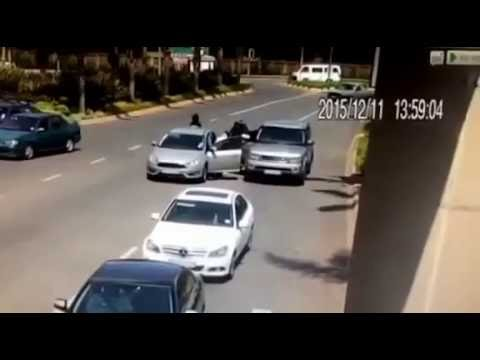 Armed Daytime Robbery outside Emperors Palace Casino, Johannesburg, South Africa