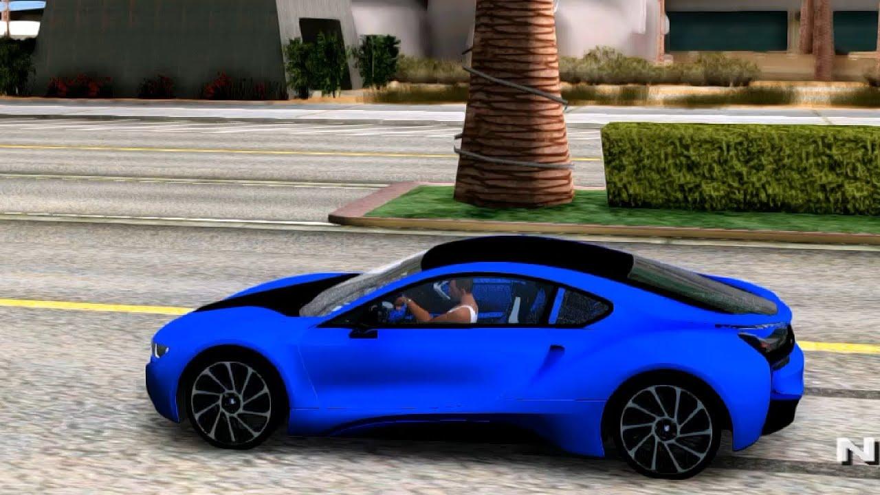 2015 Bmw I8 Vs Gta San Andreas Mod Youtube