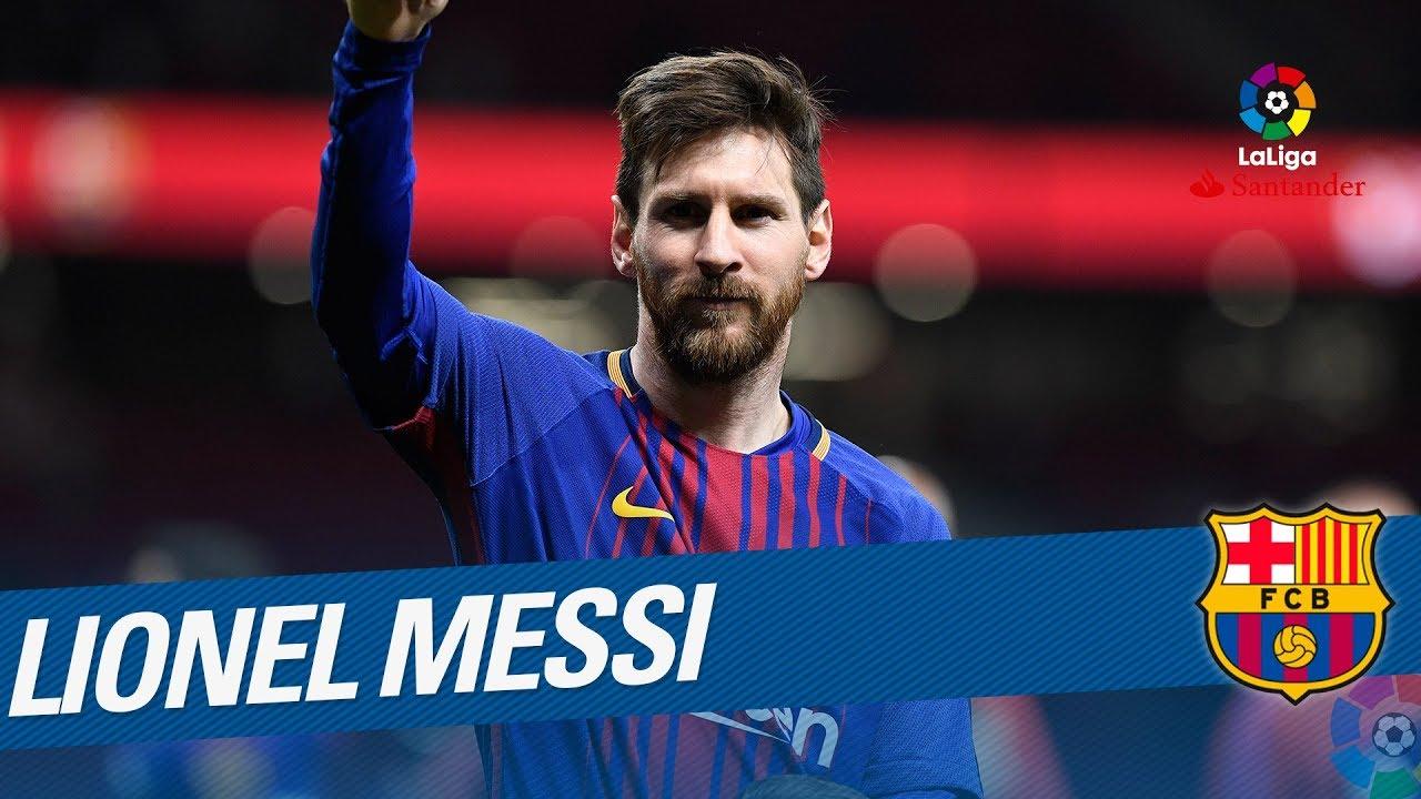 Lionel Messi Best Skills Laliga Santander 2017 2018 Youtube