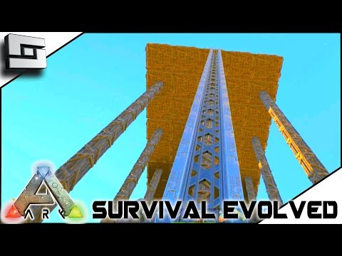 ARK: Survival Evolved - ELEVATOR TRACK PLACEMENT! S2E40 ( Gameplay )