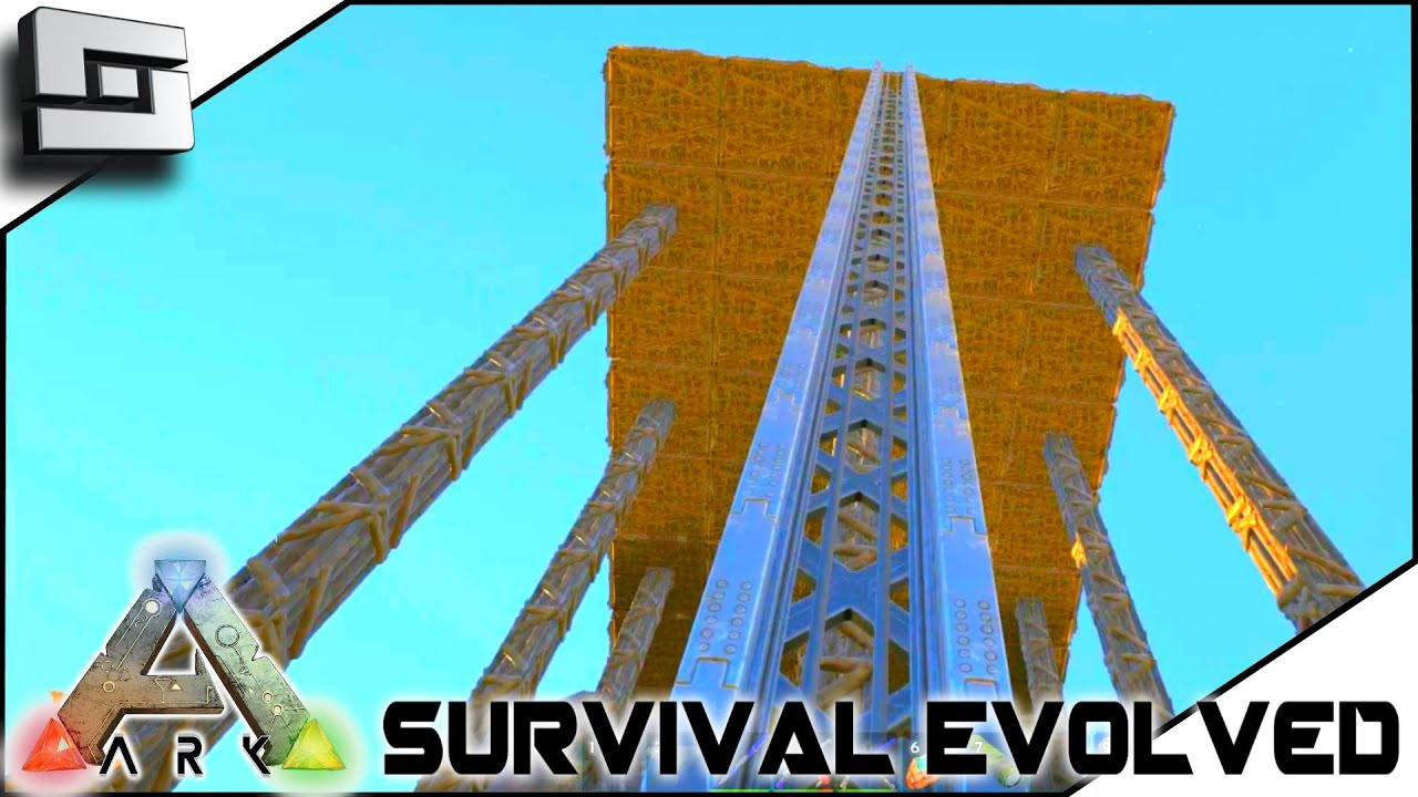 Ark Survival Evolved Elevator Track Placement S2e40 Gameplay