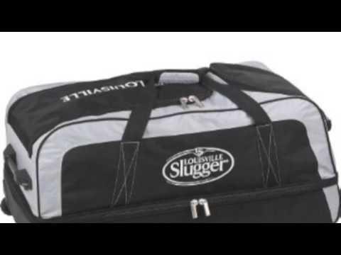 Louisville Slugger Clubhouse Collection Wheeled Split Level Duffle Bag Ebccws5 Bk