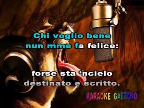 Renzo Arbore  Canzone appassiunata  Karaoke