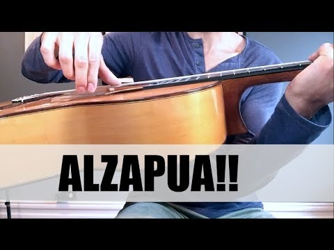 How to Play Alzapúa for Flamenco Guitar