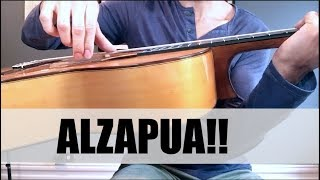 How To Play Alzapua (EASY!) | Flamenco Guitar Technique