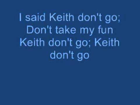Nils lofgren keith don't go lyrics