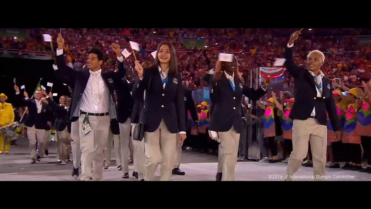 リオ2016 Ioc難民選手団 ユスラ マルディニ選手が語るオリンピックの